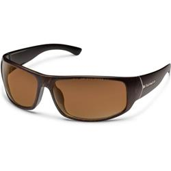 Suncloud Turbine, Blackened Tortoise Frame, Polarized Brown Lens-Not Applicable