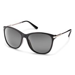 Suncloud Nightcap, Black Frame, Polarized Gray Lens-Not Applicable