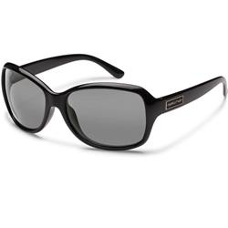 Suncloud Mosaic, Black Frame, Polarized Gray Lens-Not Applicable