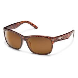Suncloud Dashboard, Tortoise Frame, Polarized Brown Lens-Not Applicable