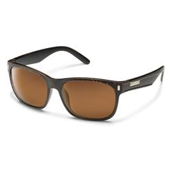 Suncloud Dashboard, Blackened Tortoise Frame, Polarized Brown Lens-Not Applicable