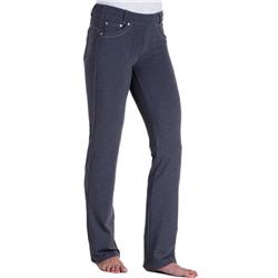 "Kuhl Mova Straight Pant, 30"" Inseam - Womens-Charcoal Heather"