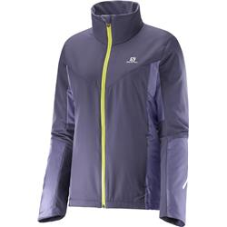 Salomon Escape Jacket - Nightshade Grey / Daybreak Grey - Womens-Not Applicable