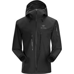 Arcteryx Alpha SV Jacket - Mens-Black
