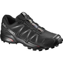 Salomon Speedcross 4 - Black / Black / Black Metallic - Mens-Not Applicable