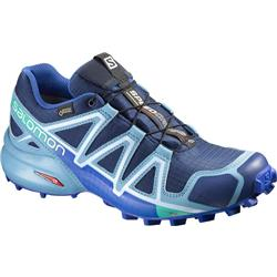 Salomon Speedcross 4 GTX - Blue Depth / Blue Gum / Blue Yonder - Womens-Not Applicable