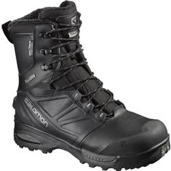 Salomon Toundra Pro CS WP - Black / Black / Autobahn - Mens-Not Applicable