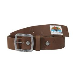 Hippy Tree Icon Belt - Mens-Brown