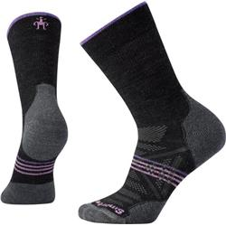 Smartwool PhD Outdoor Light Crew Socks - Womens-Charcoal