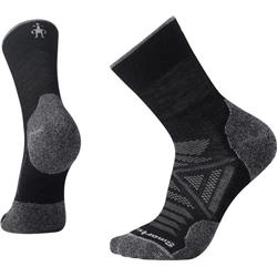 Smartwool PhD Outdoor Light Mid Crew Socks - Unisex-Black