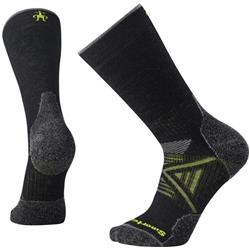Smartwool PhD Outdoor Medium Crew Socks - Unisex-Black