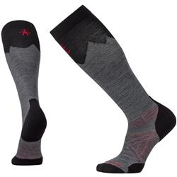 Smartwool PhD Outdoor Mountaineer Socks - Unisex-Medium Gray