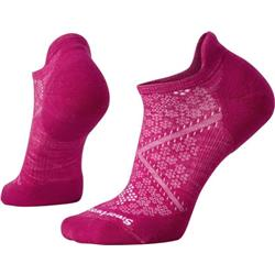 Smartwool PhD Run Light Elite Micro Socks - Womens-Berry