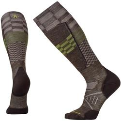 Smartwool PhD Ski Light Elite Pattern Socks - Unisex-Chestnut
