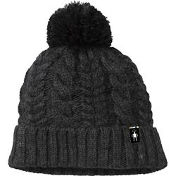 Smartwool Ski Town Hat-Charcoal Heather