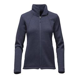 The North Face Crescent Full Zip - Womens-Cosmic Blue Heather