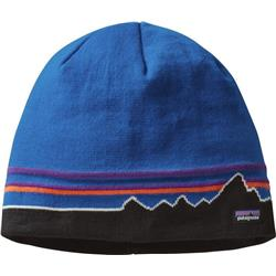 Patagonia Beanie Hat-Classic Fitz Roy / Andes Blue