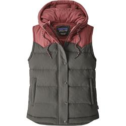 Patagonia Bivy Hooded Vest - Womens-Forge Grey