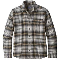 Patagonia Fjord Flannel Lightweight LS Shirt - Mens-Bad Ombre / Black