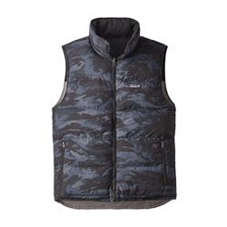Patagonia Reversible Bivy Down Vest - Mens-Feather Grey