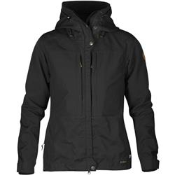 Fjallraven Keb Jacket - Womens-Black / Black
