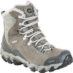 "Oboz Bridger Insulated 7"" B-Dry - Womens-Gray / Sage"