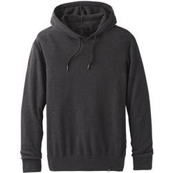 Prana Throw-On Hooded Sweater - Mens-Black