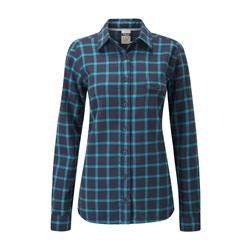 Rab Campfire Shirt - Womens-Deep Denim