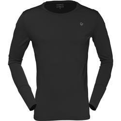 Norrona Wool Round Neck - Mens-Caviar