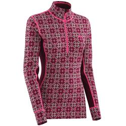 Kari Traa Rose Half Zip - Womens-Blush