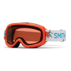 Smith Optics Gambler, Neon Orange Dinos Frame, RC36 Lens (Xtra Lens Not Included)-Not Applicable