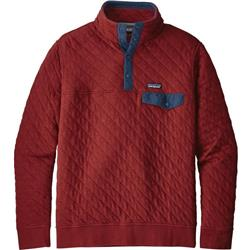 Organic Cotton Quilt Snap-T Pullover - Mens
