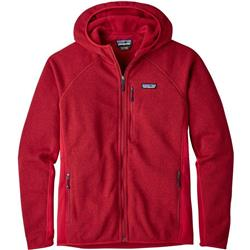 Patagonia Performance Better Sweater Hoody - Mens-Classic Red