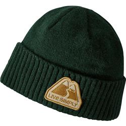 Patagonia Brodeo Beanie-Live Simply Winding / Micro Green