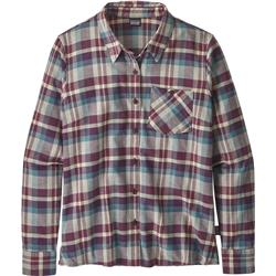 Patagonia Heywood Flannel Shirt - Womens-Basket / Light Balsamic