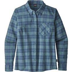 Patagonia Heywood Flannel Shirt - Womens-Herder / Shadow Blue