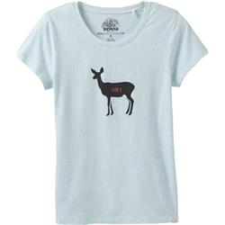 Prana prAna Graphic Tee - Womens-Aqua Deer