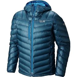 Mountain Hardwear StretchDown RS Hooded Jacket - Mens (Prior Season)-Phoenix Blue