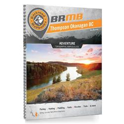 Backroad Mapbooks Thompson Okanagan BC Spiral - 4th Edition-Not Applicable