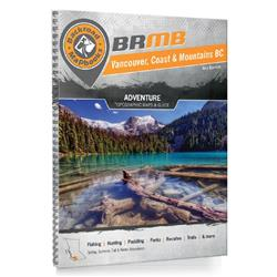 Backroad Mapbooks Vancouver Coast BC Spiral 4th Edition-Not Applicable