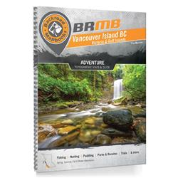 Backroad Mapbooks Vancouver Island BC Spiral - 8th Edition-Not Applicable