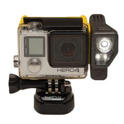 Brunton All Night Extended Battery and Lighting System for GoPro - Yellow-Not Applicable