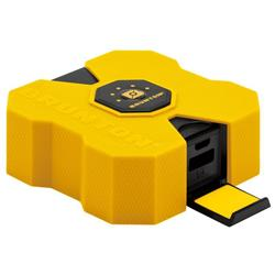 Brunton Revolt XL 9000 mAh, 6x Charge - Yellow-Not Applicable