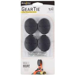 Nite-Ize Gear Tie Dockable Puck - Large - 4 Pack-Not Applicable