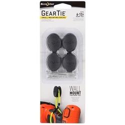 Nite-Ize Gear Tie Dockable Puck - Small - 4 Pack-Not Applicable