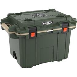 Pelican Products Elite Cooler 50QT-OD Green / Tan