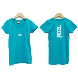 Petzl Eve T-Shirt - Womens-Turquoise
