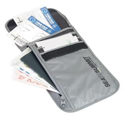 Sea To Summit Travelling Light Neck Wallet RFID-Grey