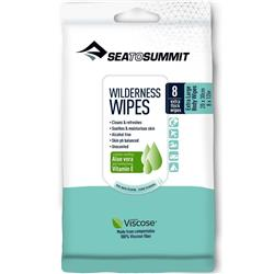 Sea To Summit Trek and Travel Wilderness Bath Wipes - XL - 8 per pack-Not Applicable