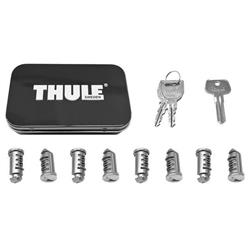 Thule 8-Pack Lock Cylinders-Silver